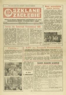 Szklane Zagłębie : organ samorządu robotniczego Krośnieńskich Hut Szkła odznaczonych Orderem Sztandaru Pracy I klasy. - 1981, nr 12 (30 czerw.) = 132
