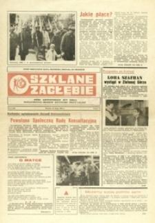 Szklane Zagłębie : pismo Krośnieńskich Hut Szkła odznaczonych Orderem Sztandaru Pracy I klasy. - 1982, nr 2 (25 maj) = 145