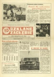 Szklane Zagłębie : pismo Krośnieńskich Hut Szkła odznaczonych Orderem Sztandaru Pracy I klasy. - 1982, nr 10 (22 wrzes.) = 153