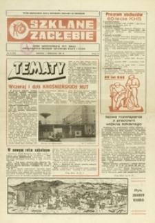 Szklane Zagłębie : pismo Krośnieńskich Hut Szkła odznaczonych Orderem Sztandaru Pracy I klasy. - 1983, nr 16 (5 wrzes.) = 175