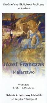 Józef Franczak [Informator] : malarstwo