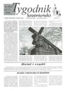 Tygodnik Krośnieński : pismo grodzkie i powiatowe. - 1998, nr 8 (29 paźdz.) = 24