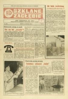 Szklane Zagłębie : pismo Krośnieńskich Hut Szkła odznaczonych Orderem Sztandaru Pracy I klasy. - 1984, nr 2 (24 stycz.) = 184