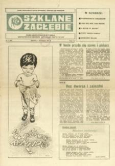 Szklane Zagłębie : pismo Krośnieńskich Hut Szkła odznaczonych Orderem Sztandaru Pracy I klasy. - 1985, nr 1 (4 stycz.) = 207