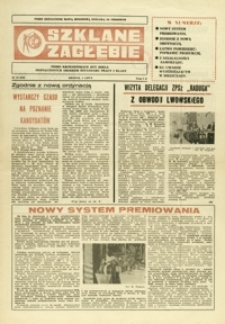 Szklane Zagłębie : pismo Krośnieńskich Hut Szkła odznaczonych Orderem Sztandaru Pracy I klasy. - 1985, nr 13 (3 lip.) = 219