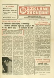 Szklane Zagłębie : pismo Krośnieńskich Hut Szkła odznaczonych Orderem Sztandaru Pracy I klasy. - 1985, nr 15 (12 sierp.) = 221