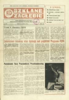 Szklane Zagłębie : pismo Krośnieńskich Hut Szkła odznaczonych Orderem Sztandaru Pracy I klasy. - 1986, nr 6 (19 marz.) = 236