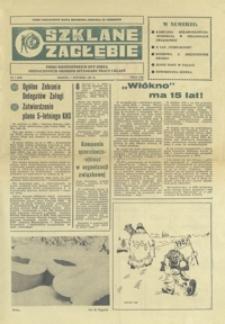 Szklane Zagłębie : pismo Krośnieńskich Hut Szkła odznaczonych Orderem Sztandaru Pracy I klasy. - 1987, nr 1 (7 stycz.) = 255