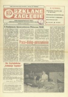 Szklane Zagłębie : pismo Krośnieńskich Hut Szkła odznaczonych Orderem Sztandaru Pracy I klasy. - 1987, nr 4 (18 luty) = 258
