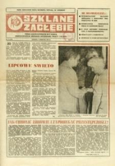 Szklane Zagłębie : pismo Krośnieńskich Hut Szkła odznaczonych Orderem Sztandaru Pracy I klasy. - 1987, nr 15 (5 sierp.) = 269