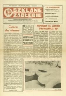 Szklane Zagłębie : pismo Krośnieńskich Hut Szkła odznaczonych Orderem Sztandaru Pracy I klasy. - 1988, nr 3 (4 luty) = 281