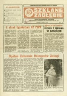 Szklane Zagłębie : pismo Krośnieńskich Hut Szkła odznaczonych Orderem Sztandaru Pracy I klasy. - 1988, nr 11 (15 czerw.) = 289