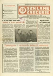 Szklane Zagłębie : pismo Krośnieńskich Hut Szkła odznaczonych Orderem Sztandaru Pracy I klasy. - 1988, nr 21 (8 list.) = 299