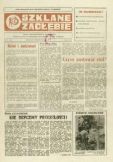 Szklane Zagłębie : pismo Krośnieńskich Hut Szkła odznaczonych Orderem Sztandaru Pracy I klasy. - 1989, nr 19 (27 paźdz.) = 321