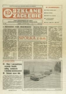 Szklane Zagłębie : pismo Krośnieńskich Hut Szkła odznaczonych Orderem Sztandaru Pracy I klasy. - 1990, nr 1 (15 stycz.) = 326