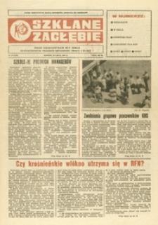 Szklane Zagłębie : pismo Krośnieńskich Hut Szkła odznaczonych Orderem Sztandaru Pracy I klasy. - 1990, nr 14 (30 lip.) = 339