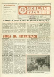 Szklane Zagłębie : pismo Krośnieńskich Hut Szkła odznaczonych Orderem Sztandaru Pracy I klasy. - 1990, nr 16 (29 sierp.) = 341