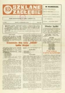 """Szklane Zagłębie : pismo Krośnieńskich Hut Szkła """"Krosno"""" S.A. - 1990, nr 18 (29 paźdz.) = 343"""