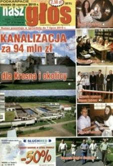 Nasz Głos : ilustrowany tygodnik regionalny. - 2010, nr 26 (29 czerw.) = 371