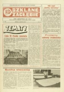 Szklane Zagłębie : pismo Krośnieńskich Hut Szkła odznaczonych Orderem Sztandaru Pracy I klasy. - 1984, nr 7 (11 kwiec.) = 189