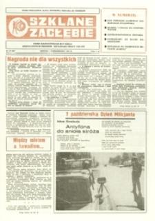 Szklane Zagłębie : pismo Krośnieńskich Hut Szkła odznaczonych Orderem Sztandaru Pracy I klasy. - 1984, nr 19 (1 paźdz.) = 201