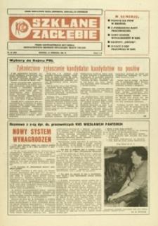 Szklane Zagłębie : pismo Krośnieńskich Hut Szkła odznaczonych Orderem Sztandaru Pracy I klasy. - 1985, nr 16 (21 sierp.) = 222