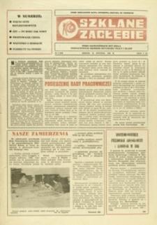 Szklane Zagłębie : pismo Krośnieńskich Hut Szkła odznaczonych Orderem Sztandaru Pracy I klasy. - 1986, nr 2 (22 stycz.) = 232