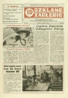 Szklane Zagłębie : pismo Krośnieńskich Hut Szkła odznaczonych Orderem Sztandaru Pracy I klasy. - 1986, nr 11 (2 czerw.) = 241