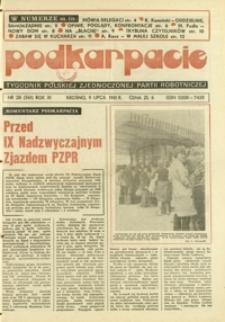Podkarpacie : tygodnik Polskiej Zjednoczonej Partii Robotniczej. - R. 11, nr 28 (9 lip. 1981) = 561