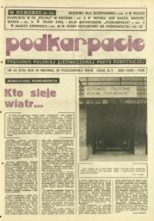 Podkarpacie : tygodnik Polskiej Zjednoczonej Partii Robotniczej. - R. 11, nr 43 (29 paźdz. 1981) = 576
