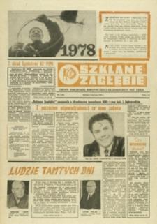 Szklane Zagłębie : organ samorządu robotniczego Krośnieńskich Hut Szkła. - 1978, nr 1 (3 stycz.) = 49