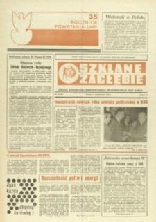 Szklane Zagłębie : organ samorządu robotniczego Krośnieńskich Hut Szkła. - 1978, nr 19 (14 paźdz.) = 67