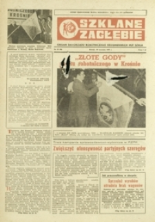 Szklane Zagłębie : organ samorządu robotniczego Krośnieńskich Hut Szkła. - 1979, nr 18 (26 wrzes.) = 90