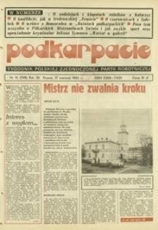 Podkarpacie : tygodnik Polskiej Zjednoczonej Partii Robotniczej. - R. 12, nr 16 (17 czerw. 1982) = 598