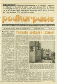 Podkarpacie : tygodnik Polskiej Zjednoczonej Partii Robotniczej. - R. 12, nr 28 (9 wrzes. 1982) = 610
