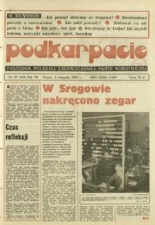 Podkarpacie : tygodnik Polskiej Zjednoczonej Partii Robotniczej. - R. 12, nr 37 (11 list. 1982) = 619