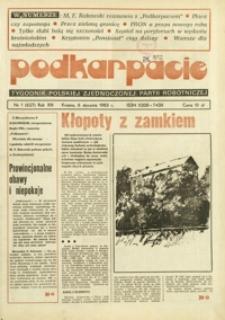 Podkarpacie : tygodnik Polskiej Zjednoczonej Partii Robotniczej. - R. 13, nr 1 (6 stycz. 1983) = 627