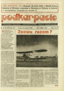 Podkarpacie : tygodnik Polskiej Zjednoczonej Partii Robotniczej. - R. 13, nr 36 (8 wrzes. 1983) = 662