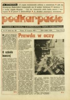 Podkarpacie : tygodnik Polskiej Zjednoczonej Partii Robotniczej. - R. 13, nr 37 (15 wrzes. 1983) = 663