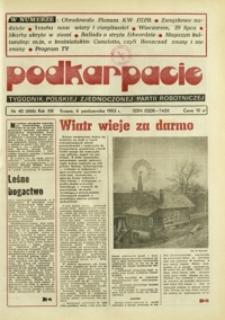 Podkarpacie : tygodnik Polskiej Zjednoczonej Partii Robotniczej. - R. 13, nr 40 (6 paźdz. 1983) = 666