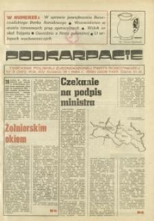 Podkarpacie : tygodnik Polskiej Zjednoczonej Partii Robotniczej. - R. 14, nr 3 (19 stycz. 1984) = 681