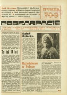 Podkarpacie : tygodnik Polskiej Zjednoczonej Partii Robotniczej. - R. 14, nr 22 (31 maj 1984) = 700
