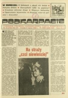 Podkarpacie : tygodnik Polskiej Zjednoczonej Partii Robotniczej. - R. 15, nr 10 (7 marz. 1985) = 740