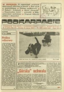 Podkarpacie : tygodnik Polskiej Zjednoczonej Partii Robotniczej. - R. 15, nr 11 (14 marz. 1985) = 741