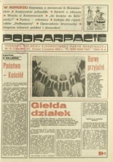 Podkarpacie : tygodnik Polskiej Zjednoczonej Partii Robotniczej. - R. 15, nr 15 (11 kwiec. 1985) = 745