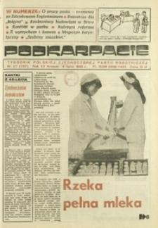 Podkarpacie : tygodnik Polskiej Zjednoczonej Partii Robotniczej. - R. 15, nr 27 (4 lip. 1985) = 757