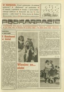 Podkarpacie : tygodnik Polskiej Zjednoczonej Partii Robotniczej. - R. 15, nr 38 (19 wrzes. 1985) = 768
