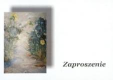 Otwarcie wystawy prac Leona J. Chrapko [Zaproszenie]