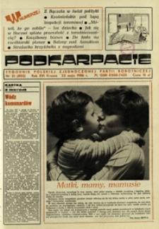 Podkarpacie : tygodnik Polskiej Zjednoczonej Partii Robotniczej. - R. 16, nr 21 (22 maj 1986) = 803