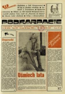 Podkarpacie : tygodnik Polskiej Zjednoczonej Partii Robotniczej. - R. 16, nr 30 (24 lip. 1986) = 812